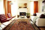 Persian rug blue