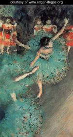 Degas Teal Tutu
