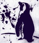 penguin splatter
