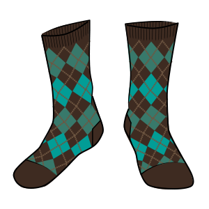 Ira Argyle Sock
