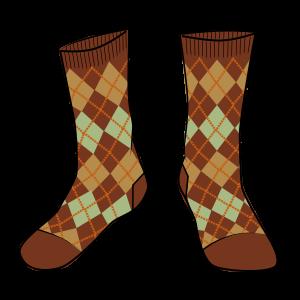 Arkling Argyle Sock