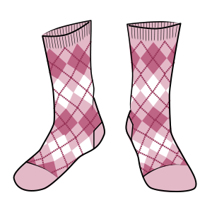Barbie Socks