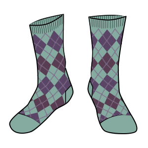 Blueburry Socks