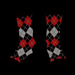 calcetín rouge