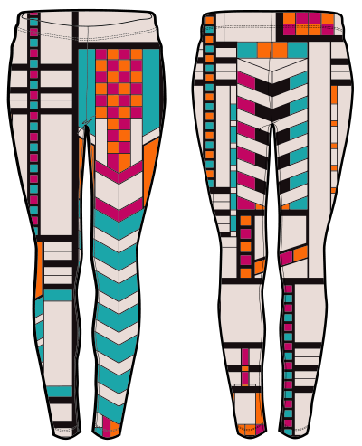 African Tribal Pants