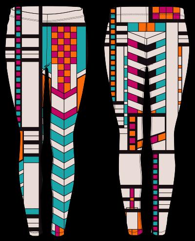 African Tribal Pants