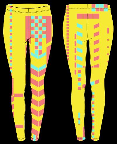 Bright leggings