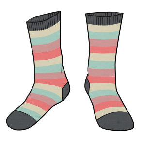 socks for H O P E