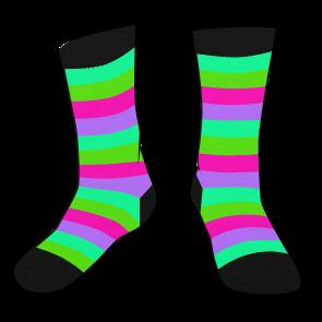 Blacklight Socks