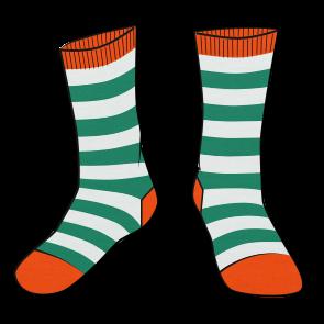 .Lucky Miami Socks.