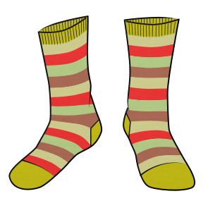 Fun Day Socks