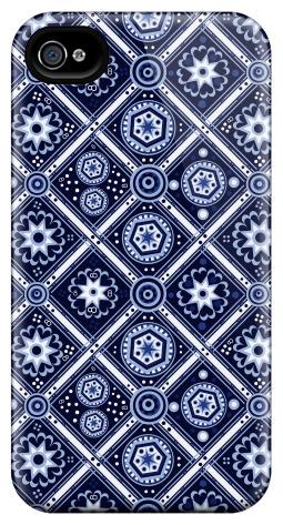 Flow Blue CoinPlaid