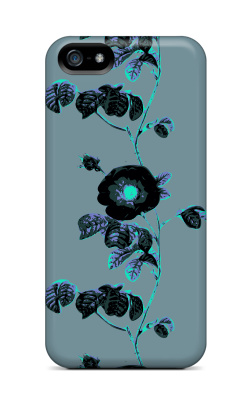 Black botanic rose