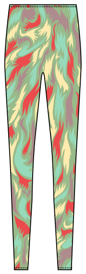 psychedelic pants