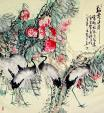 Oriental cranes