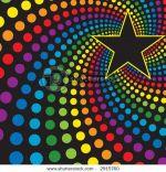 estrella de colores