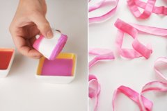 DIY Ombre Ribbon