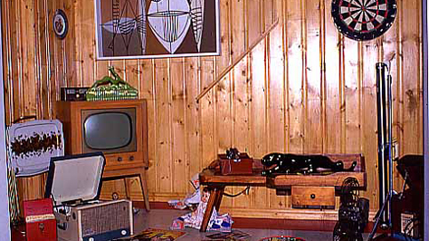 1970s Recreation Room