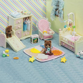 Toy Pastel Room with Bears