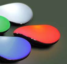 Aduki lights and colour samples
