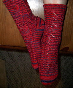 Falling in Love Socks