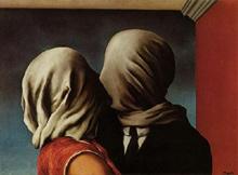 Les Amants by René Magritte
