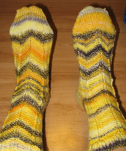 My Construction Barrier Socks