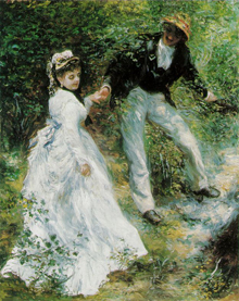 La Promenade by Pierre-Auguste Renoir