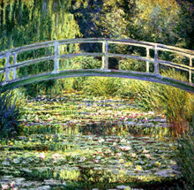 The Water Lily Pond by Claude Pierre Monet