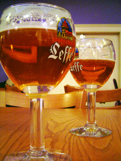Leffe Abbey Beer