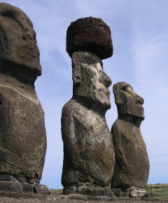 Statues of Easter Island, Chile
