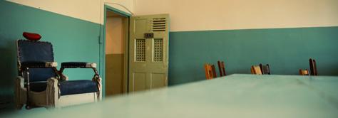 Mental Hospital Green