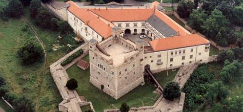 Rákóczi Castle in Sárospatak