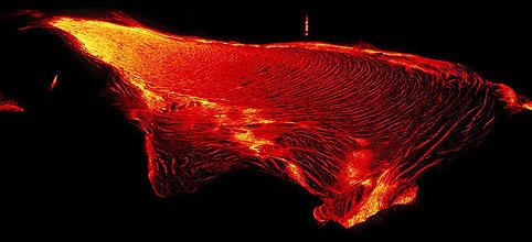 Kileaua Lava Flow - Hawaii