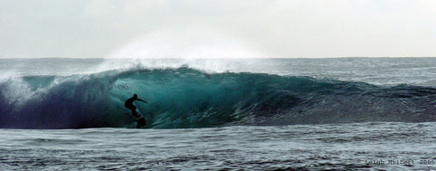 Surfing the Big Island