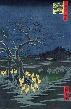 100 views of Edo by Hiroshige