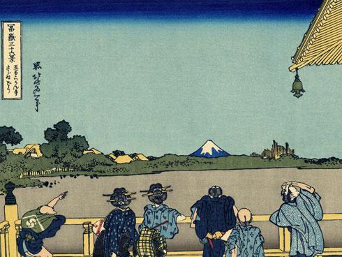 sazai hall rakan temples by katsushika hokusai