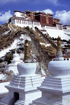 tibet in the himalayas