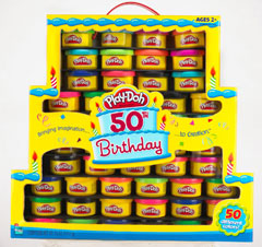 play-doh 50th anniversary colour pack