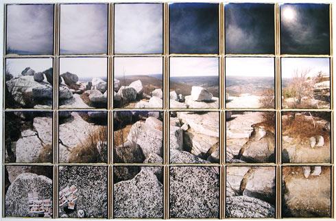 Patrick Winfield's bear hill (wisdom teeth), 2007 Polaroid Composite
