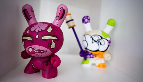 Designer Vinyl Toys