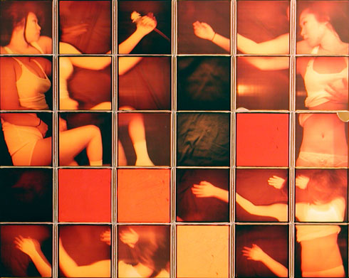 Patrick Winfield's Saranghe Polaroid Composite