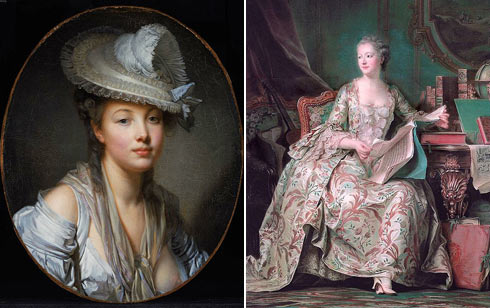 that french rococo art was