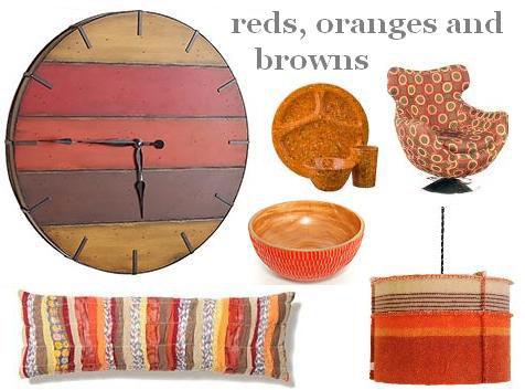 reds,oranges,browns