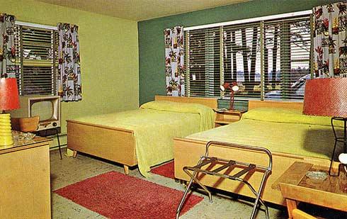 Edgewood-Motel,-1950's-by-R