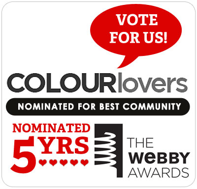 Vote for COLOURlovers for the Webby Awards!