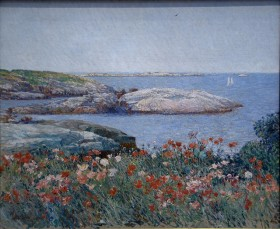 10-Poppies Isles of Shoals Hassam