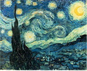 2-Van Gogh Starry Night