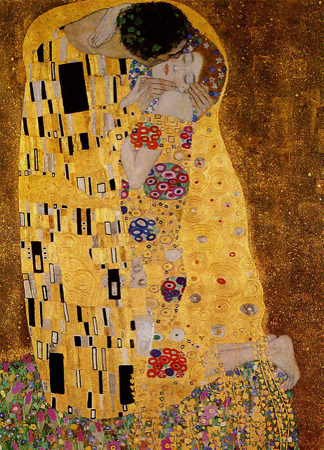 5-Gustav Klimt -- The Kiss