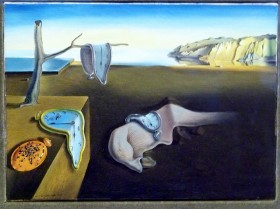 6-Salvadore Dali, The Persistence of Memory